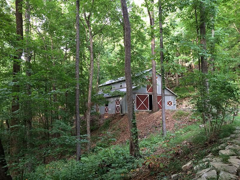oakleaf cottage barn original