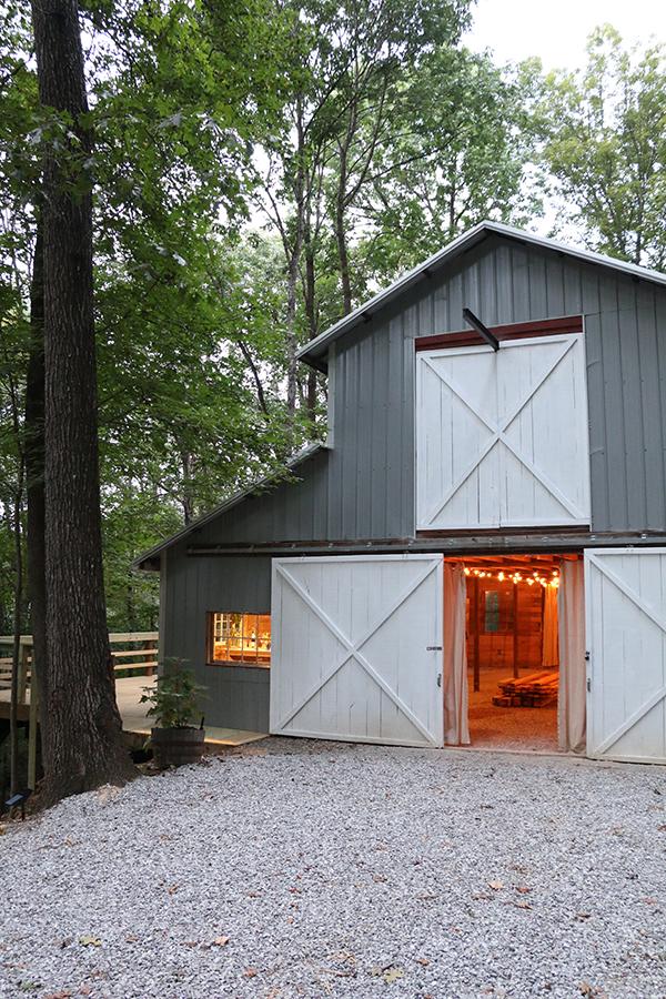 barn exterior angle