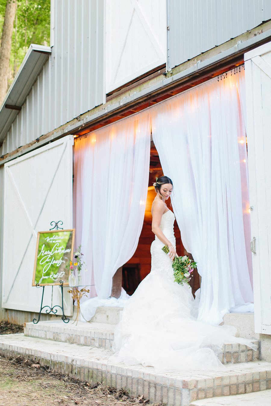 not rustic barn wedding venue