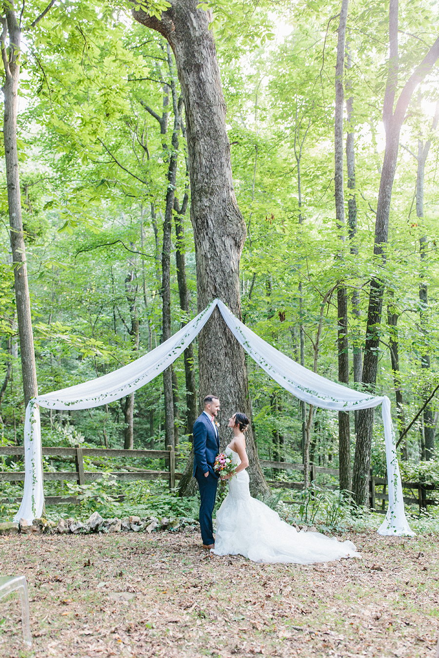 tree wedding ceremony